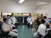 省中医院王春林专家组莅临曲靖市第五人民医院指导工作
